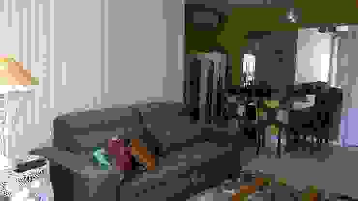 sala sofa Salas de estar modernas por casulo arquitetura design Moderno