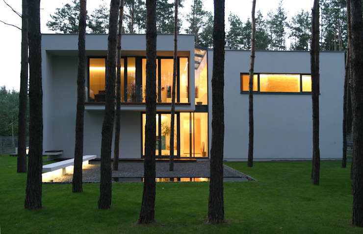 Ingarden & Ewý Architekci Modern home