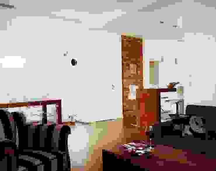 Salon z Jadalnią Eklektyczny salon od living box Eklektyczny