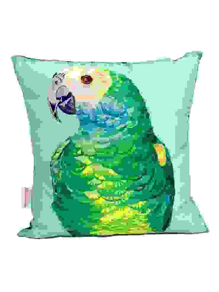 Parrot Portrait Cushion Luku Home Tropikal