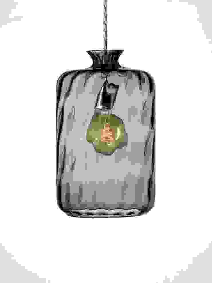 Copenhagen Bottle Pendant: eclectic  by Luku Home, Eclectic