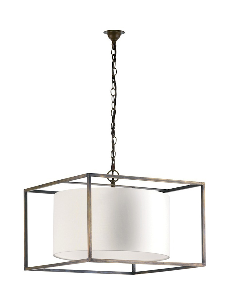 Derwent Pendant - Wide Rectangle: classic  by Luku Home, Classic