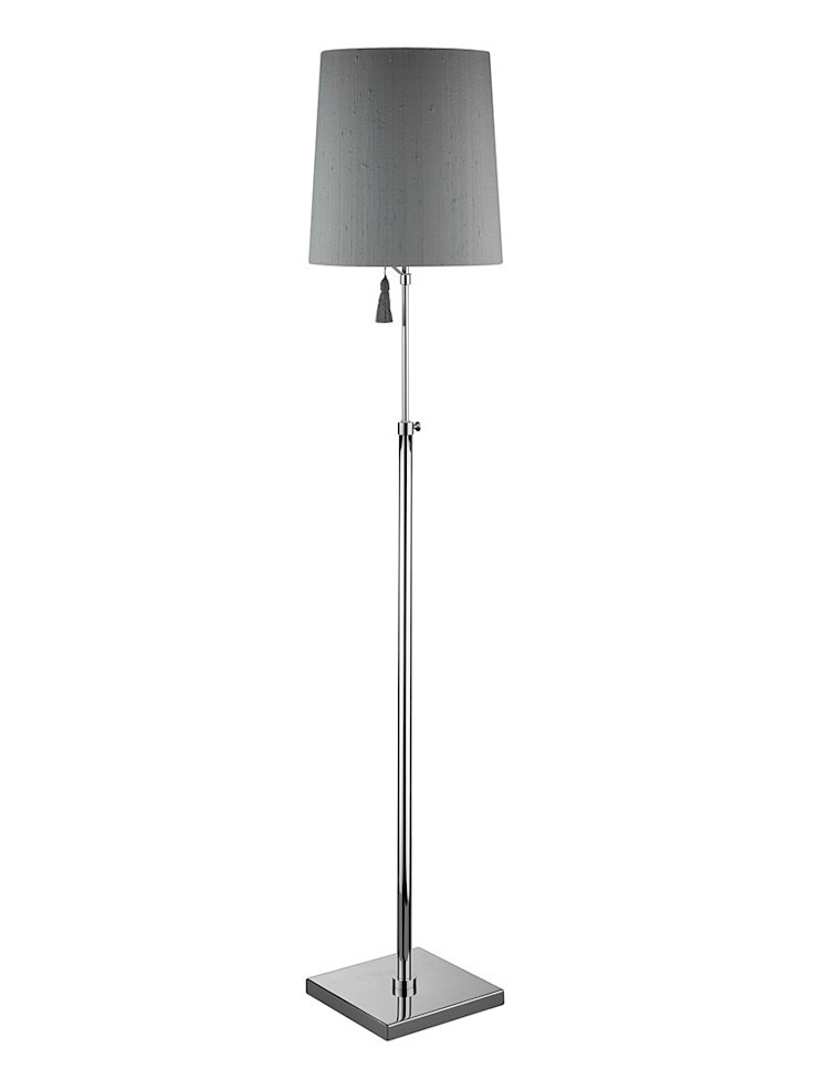 Edgar Floor Lamp - Grey: modern  by Luku Home, Modern