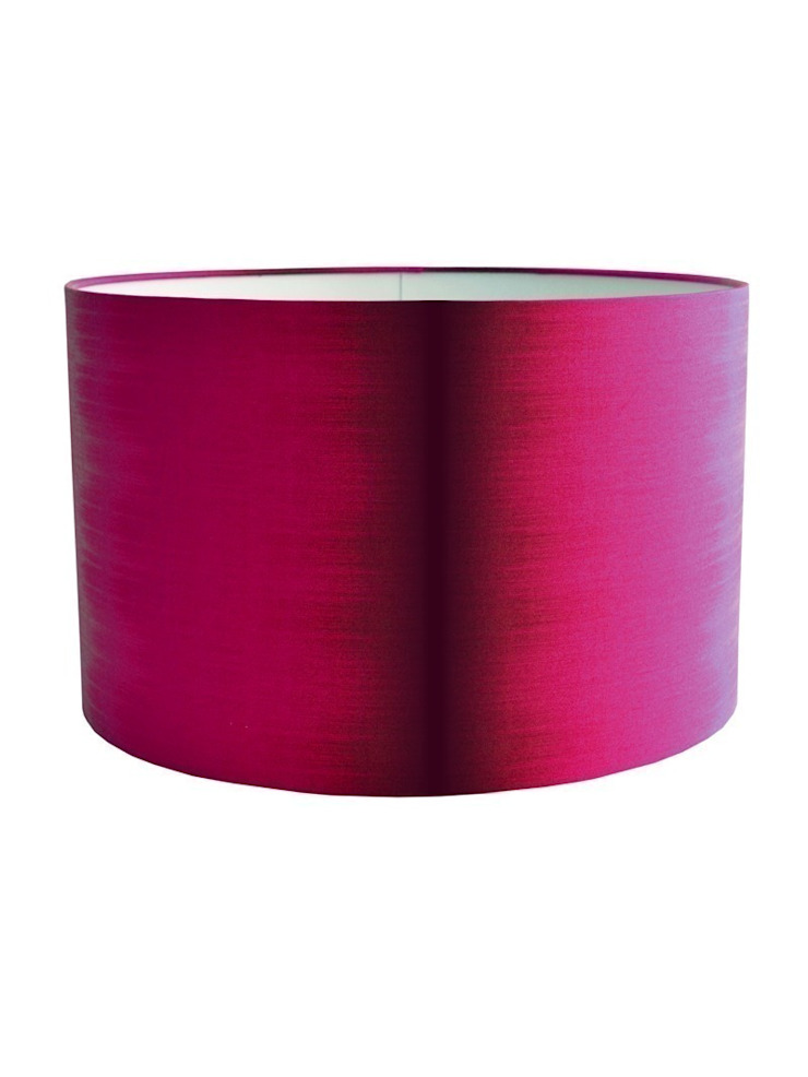 Ikat Lampshade - Pink: eclectic  by Luku Home, Eclectic