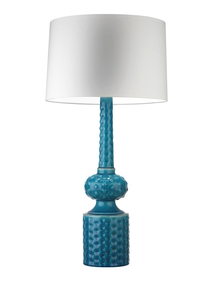 Babylon Table Lamp - Turquoise Crackle: modern  by Luku Home, Modern