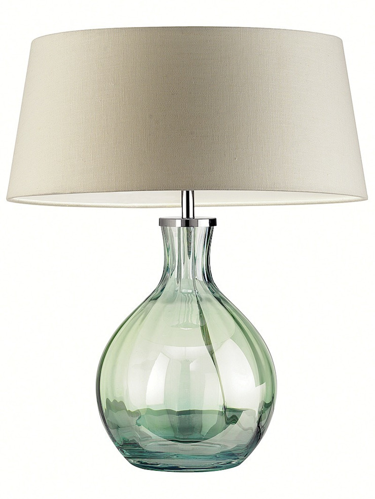 Paris Antique Table Lamp - Green: modern  by Luku Home, Modern
