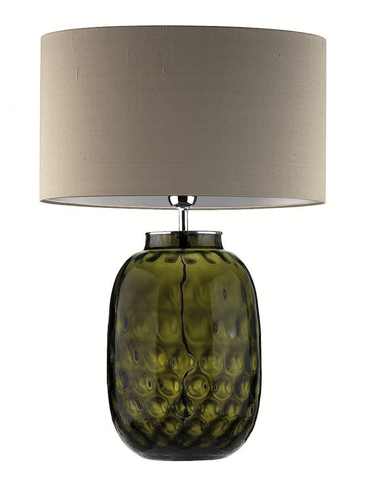http://www.lukuhome.com/lighting/table-lamps/babylon-table-lamp-turquoise-crackle.html: modern  by Luku Home, Modern
