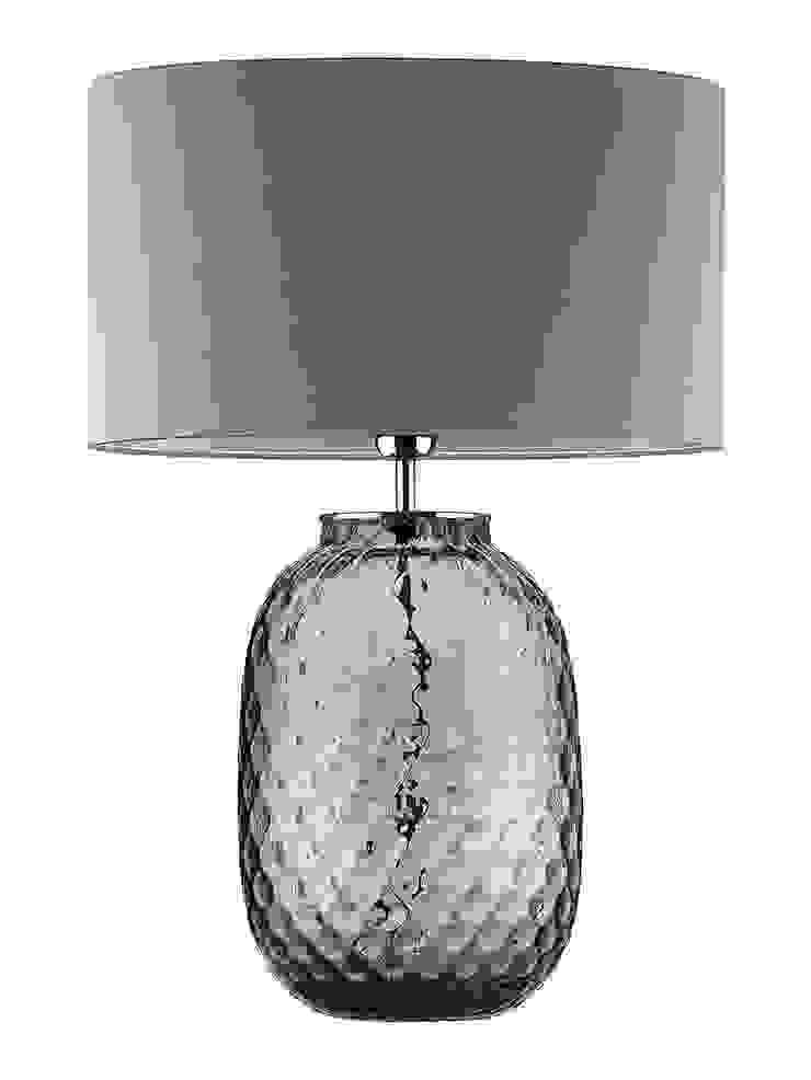 Bubble Table Lamp - Smoke: modern  by Luku Home, Modern