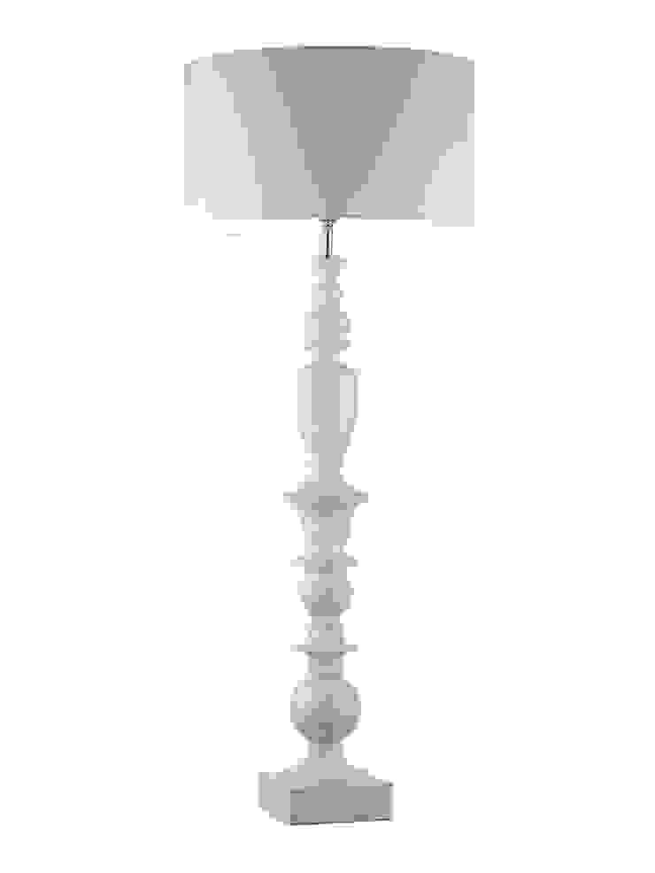 Oscar Table Lamp - Ivory White: modern  by Luku Home, Modern