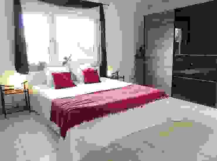 Schlafzimmer nachher von Immobilien Podium