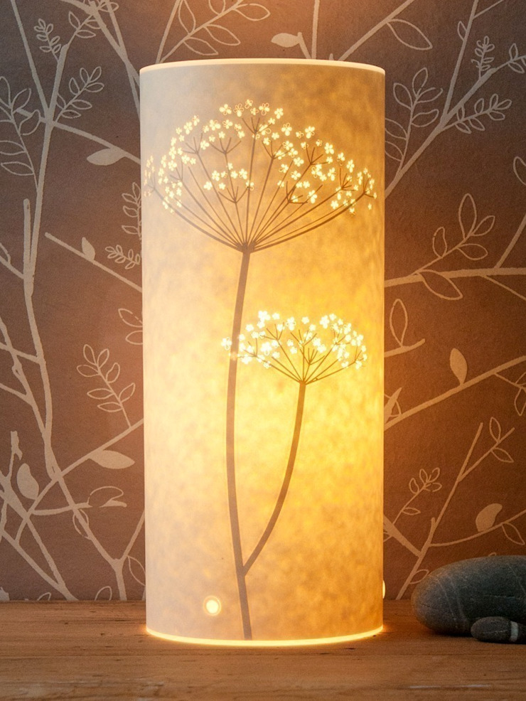 Tall Cow Parsley Table Lamp: modern  by Luku Home, Modern