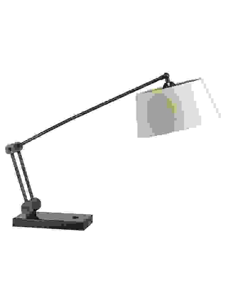 Torun Desk Lamp - Antique Brass: modern  by Luku Home, Modern