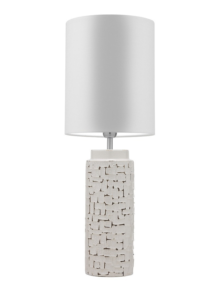 Woodstock Table Lamp - Antique Ivory: modern  by Luku Home, Modern