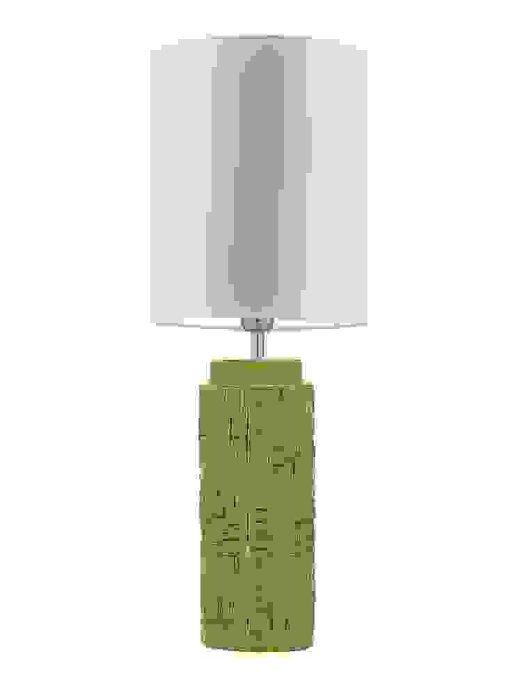 Woodstock Table Lamp - Lime: modern  by Luku Home, Modern