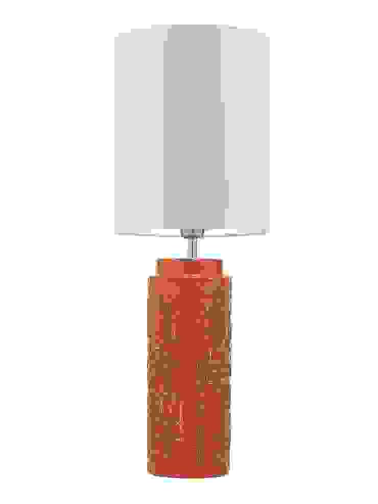 Woodstock Table Lamp - Tangerine: modern  by Luku Home, Modern