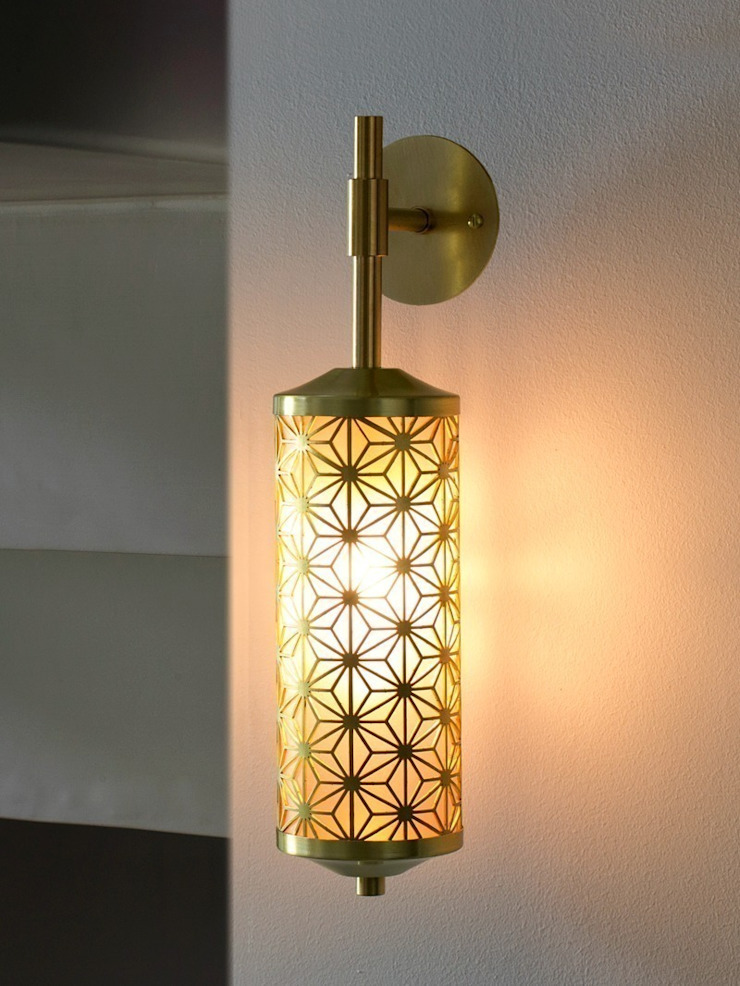 Deco Wall Light - Various Finishes: industrial  by Luku Home, Industrial
