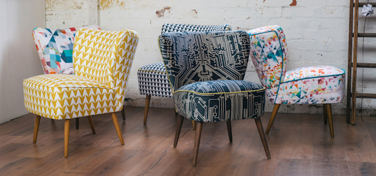 Flocktail Chairs - Luku Home: eclectic  by Luku Home, Eclectic