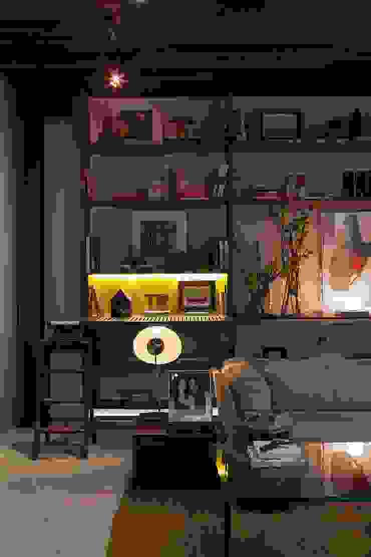 Lounge das Artes – Casa Cor ES 2013 por Coutinho+Vilela Moderno