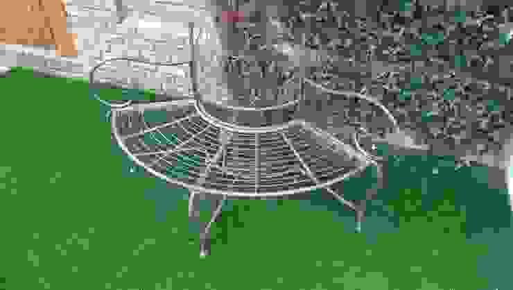 Mediterainan Garden design and build by Progressive Design London