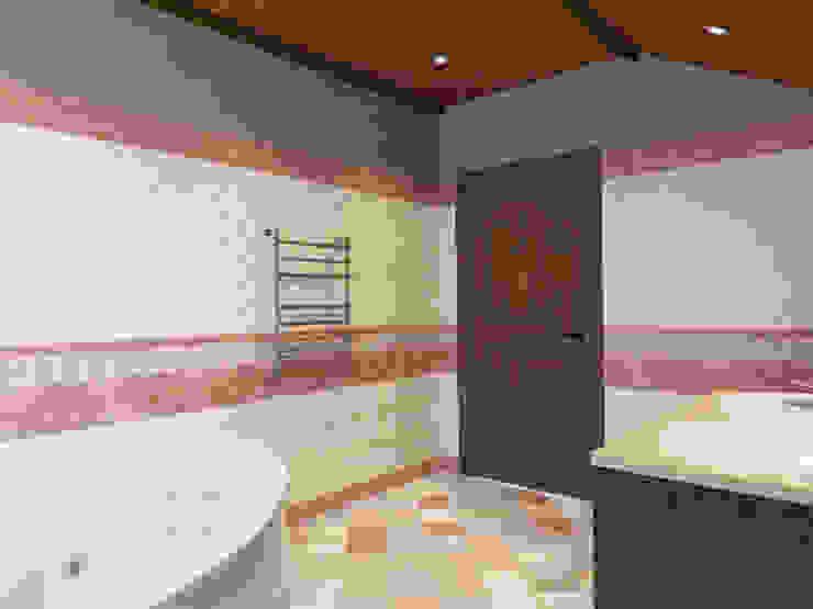 Ванная 2 этаж, Стиль элементы шале Ванная комната в стиле кантри от Универсальная история Кантри