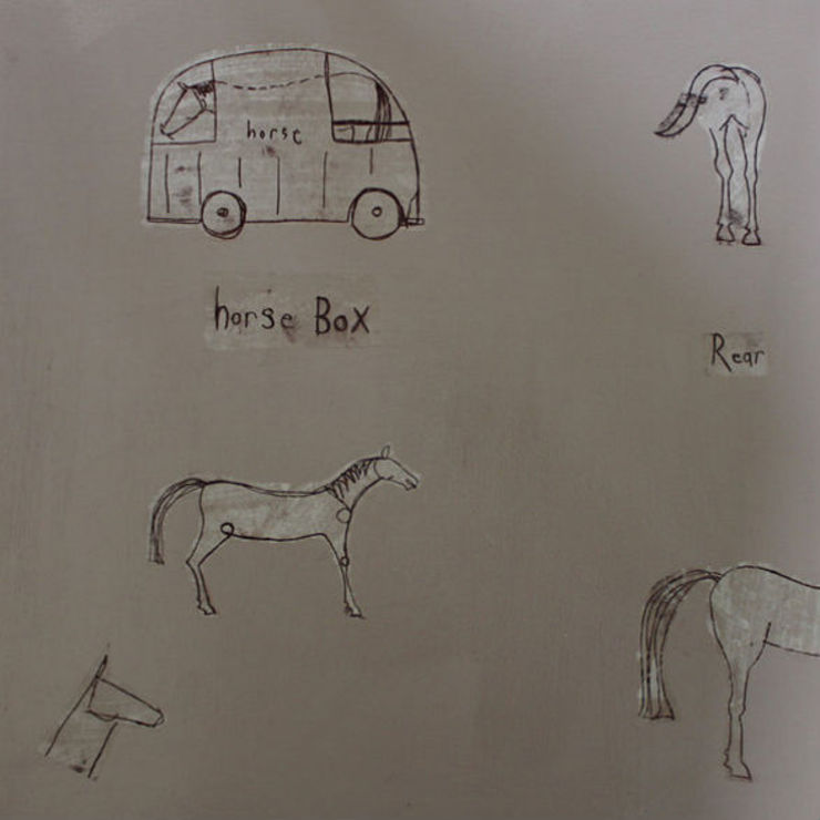 HORSE BOX: country  by Clare Haxby Art Studio,Country