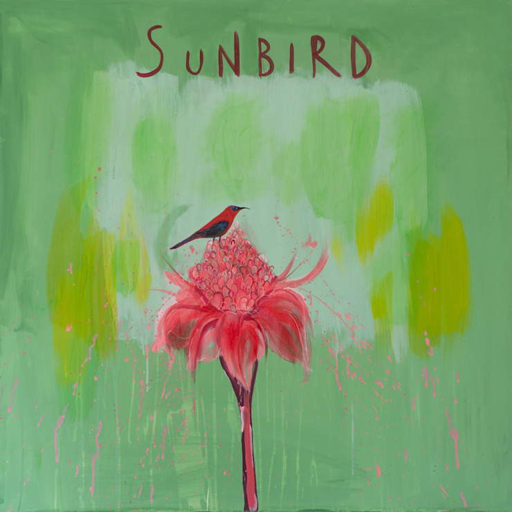 SUNBIRD: tropical  by Clare Haxby Art Studio,Tropical