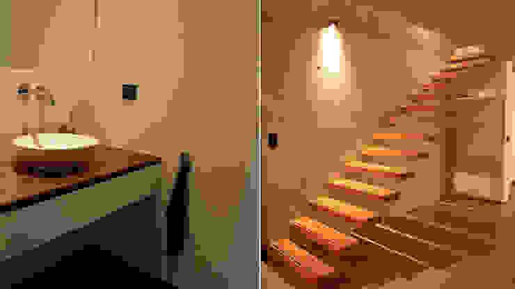Modern corridor, hallway & stairs by Scholz&Fuchs Architekten Modern