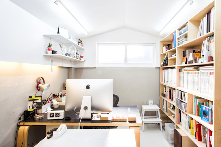 지오아키텍처 Modern Study Room and Home Office