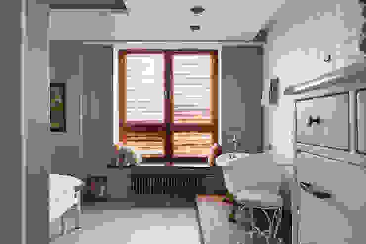 Квартира Ванная комната в эклектичном стиле от частная практика Эклектичный