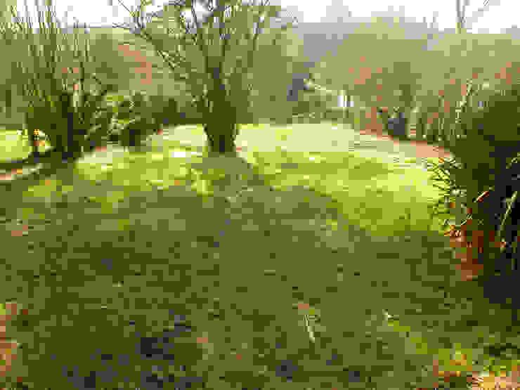 Garden by dominique tessier et associés, Rustic