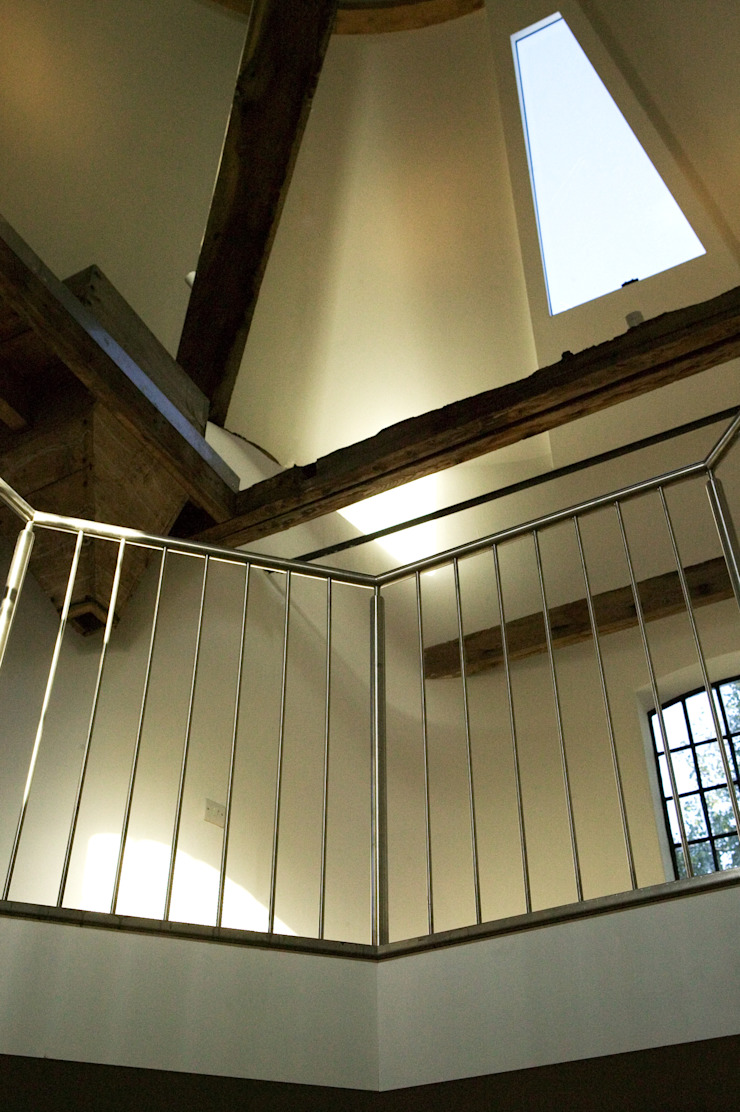 Albion Mill - Interior Details Modern corridor, hallway & stairs by Syte Architects Modern