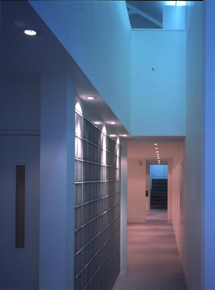 Loman Street - corridor Modern offices & stores by Syte Architects Modern