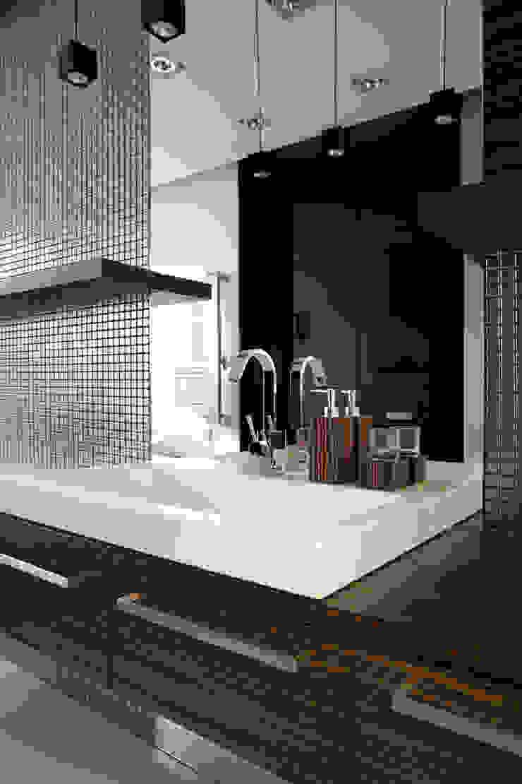 Minimalistyczna łazienka Minimalistyczna łazienka od living box Minimalistyczny