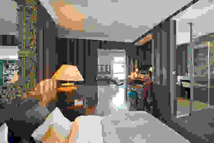 Appartement Caulaincourt Paris Chambre moderne par Hélène de Tassigny Moderne