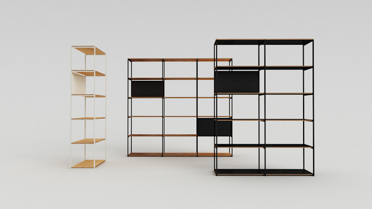900 Shelving System: modern  door Modiste Furniture, Modern