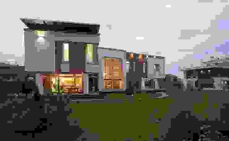 S-HOUSE Дома в стиле модерн от NefaProject Модерн