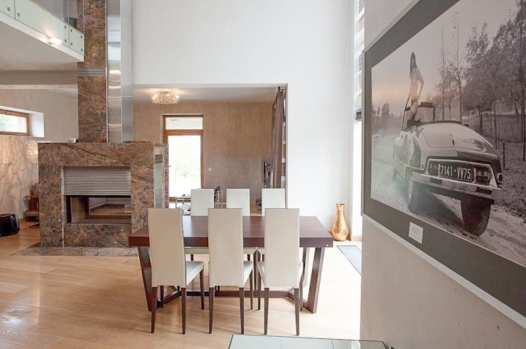 S-HOUSE : Столовые комнаты в . Автор – NefaProject,