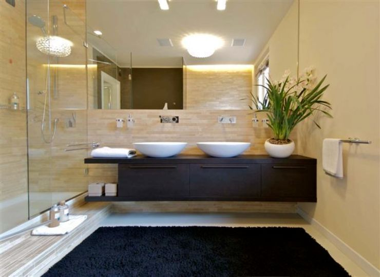 Bathroom project Modern bathroom by Lorenzo De Grada Modern