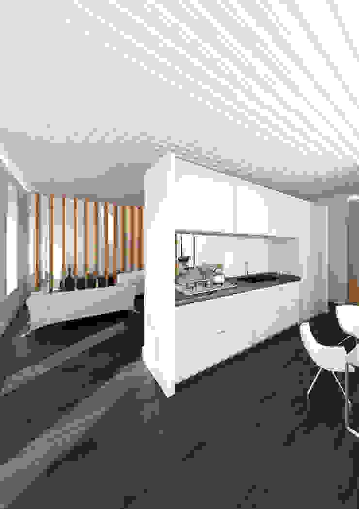 Cocina integrada lacooperativaarquitectos Cocinas de estilo moderno
