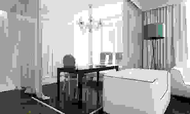 Gabinet Klasyczne domowe biuro i gabinet od living box Klasyczny