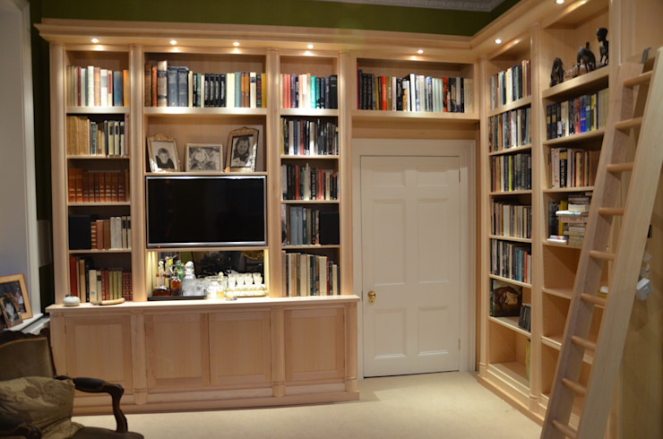 Camden Library Classic style study/office by Tim Jasper Classic