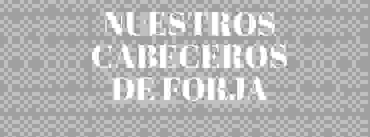 Cabecero de forja económicos de Forja Hispalense