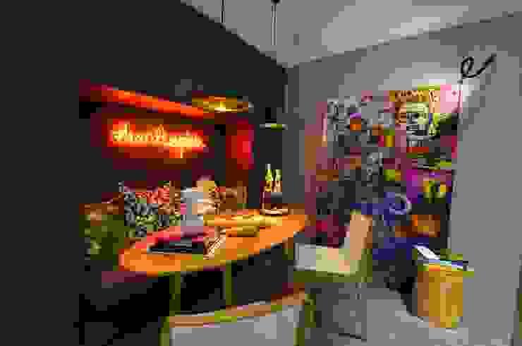 Studio Cinque의  주방, 인더스트리얼