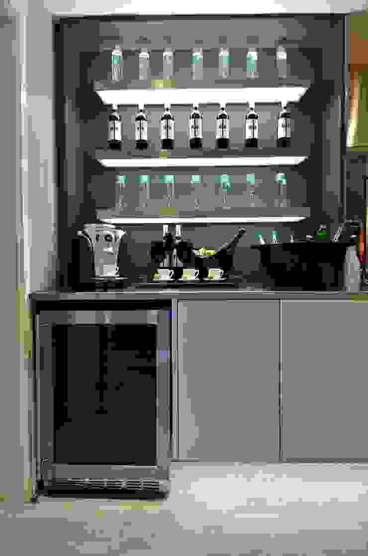 Cozinha de Estar Corredores, halls e escadas industriais por Studio Cinque Industrial