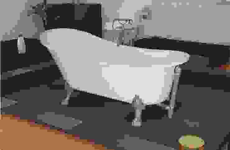 Yapıes Banyo – Krom Ayaklı Küvet: modern tarz , Modern