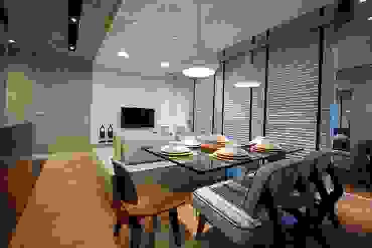 Apartamento A+F Salas de jantar modernas por Neoarch Moderno