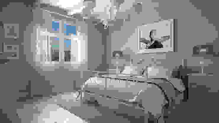 Villa MA - Vista Camera Camera da letto in stile mediterraneo di homify Mediterraneo