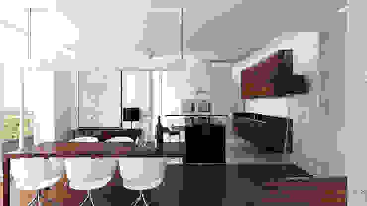 Comedores de estilo minimalista de living box Minimalista