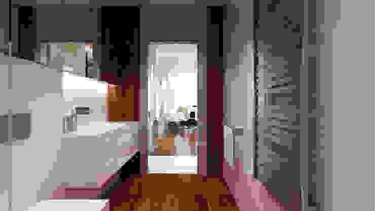 Minimalistische badkamers van living box Minimalistisch