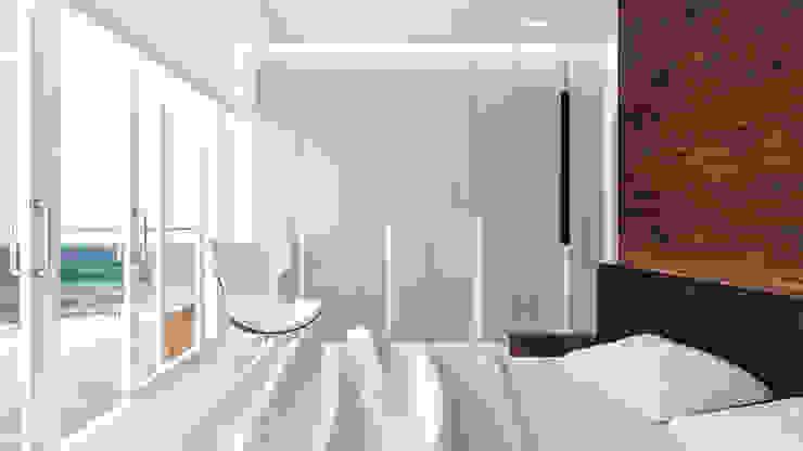Dormitorios de estilo minimalista de living box Minimalista